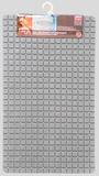 Antislip badmat grijs 69x39 cm_