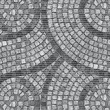 Antislip badmat mozaiek steentjes