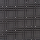 Antislip douchemat zwart 55x55 cm_