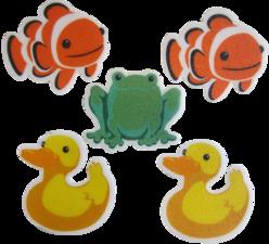 Antislip stickers dieren