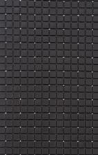 Antislip badmat zwart 69x39 cm