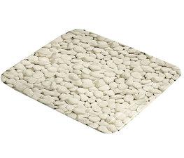 Antislip douchemat stenen beige 55x55 cm