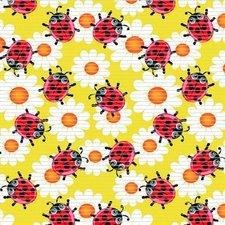 Coupon Antislipmat lieveheersbeestjes geel (150x65 cm)