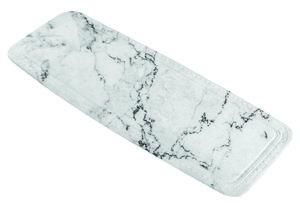 Antislip badmat marmer 36x92 cm