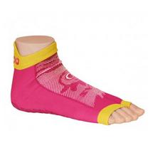 Antislip zwemsokken Sweakers roze maat 27-30