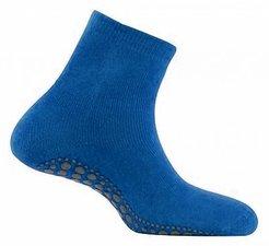 Antislip sokken huissokken kobalt blauw