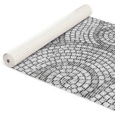 Antislipmat mozaiek stenen grijs