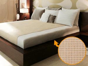 Antislip matrasonderlegger 140 cm breed