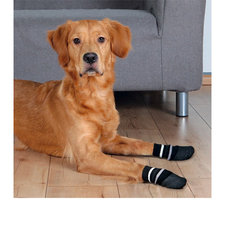 Hondensokken antislip maat S-M (2 stuks)