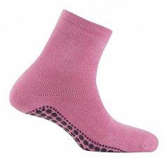 Antislip sokken huissokken roze