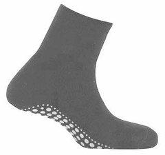 Antislip sokken huissokken antraciet