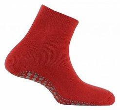 Antislip sokken huissokken rood