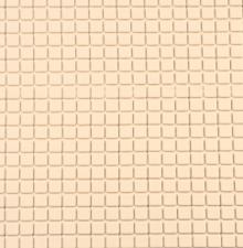 Antislip douchemat beige 55x55 cm
