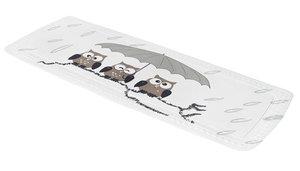 Antislip badmat uiltjes 36x92 cm