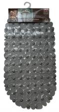Antislip badmat antraciet 68x35 cm