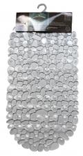 Antislip badmat transparant 68x35 cm