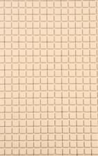 Antislip badmat beige 69x39 cm