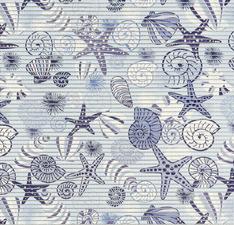 Antislipmat zeester blauw