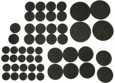Antislip meubel en vloerbeschermers zwart