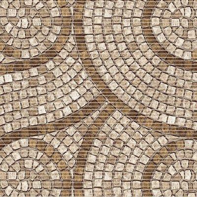 Antislipmat mozaiek steentjes beige tinten