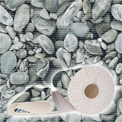 Antislipmat stenen grijs