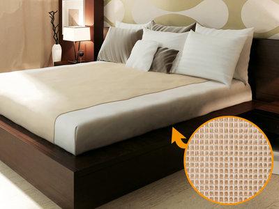 Antislip matrasonderlegger 120 cm breed