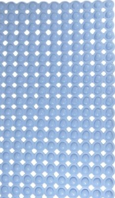 Antislip badmat bubbel lila 77x45 cm