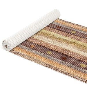 antislip schuimmat hout bruin