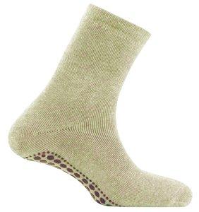 anti slip sokken beige