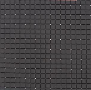 Antislip douchemat zwart 55x55 cm